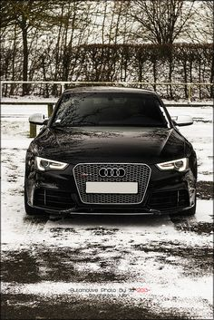 Audi RS5- there is something about the headlights