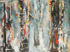 "Saatchi Online Artist: Mishelle Ramos De Los Santos, Peru  Acrylic 2007 Painting ""windows"""