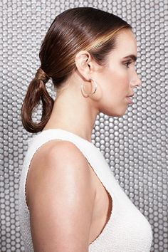 "Chic LoopThe loop is the chignon's cool, older sister, and by far one of the most popular looks on recent runways. ""It's beautiful. dramatic, chic, flirty, and serious all at once,"" says Fugate. ""It's the anti-bun.""<..."