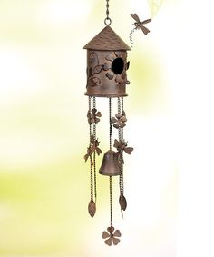 Take a look at this Birdhouse Wind Chime by Transpac Imports on #zulily today!