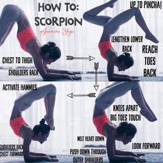 いいね!2,129件、コメント67件 ― Jasmine Chong さん(@jasmine_yoga)のInstagramアカウント: 「#JasmineYogaTutorial : #scorpionpose  This took me a year. You can see my previous post for the…」