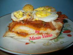 Sanduiche de forno: Maria Viana - Espaço das delícias culinárias
