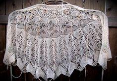 (6) Name: 'Knitting : Debra Peacock Tail Shawl