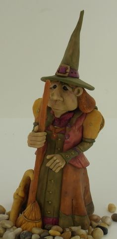 Super Sculpey® Witch