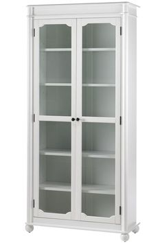 Essex Bookcase with Glass Doors | eBay