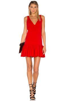 Amanda Uprichard Carrie Dress in Candy Apple
