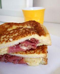 bill grangers ham and gruyere french toast.