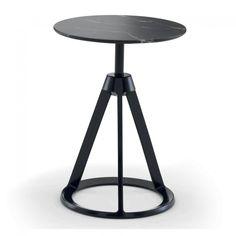 Piton Side Table Black & Nero Marquina Marble