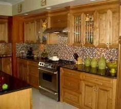 Kitchen On Pinterest Oak Cabinets Light Oak Cabinets And Paint Colors For