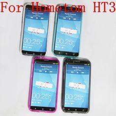 HOMTOM HT3 Funda de Silicona 100% Nuevo Mate TPU Suave Trasera de Protección de silicio Cubierta Para HOMTOM HT3 Pro Teléfono Móvil + Envío Libre