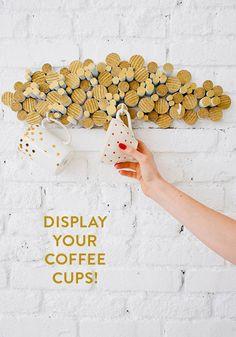 DIY coffee cup holder | designlovefest