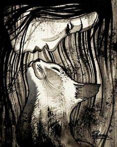 """THE CAT KISS"" Original painting by Raphaël Vavasseur art Original painting☀️ Crazy Cat Lady, Crazy Cats, Art Original, Original Paintings, Arte Fashion, Image Chat, Cat Drawing, Cat Love, Cat Art"