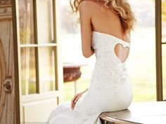 Cool wedding tress or back for any dress