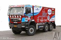 rally dakar 2015 - MAN カミオン