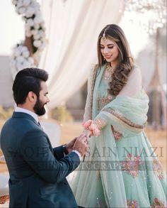 #pakistaniweddings #pakistanifashion #bridal #bride #groom Bride Groom, Pakistani, Victorian, Engagement, Bridal, Dresses, Fashion, Vestidos, Moda