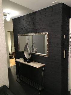Wohnzimmerwand Stein Optik Lajas | Wandgestaltung Wohnzimmer | Pinterest |  Wand