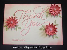Stampin' Up! Sale-a-Bration So very Much, and Blossom bunch Punch