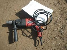 "FOR ONLINE AUCTION Wednesday, April 17th ARA of Michigan Auction Repocast.com Milwaukee 1/2"" Hammer Drill, Model #5378-20, Works Auction is open to the public! For more information, call Repocast 866-550-7376 or visit Repocast.com Used Construction Equipment, Wednesday, Michigan, Auction, Public, Model, Models"