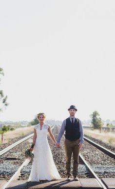 Australian rustic farm wedding | Photography by Jason Vandermeer