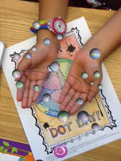 And another Dot Day with Colar AR app - beautiful!  http://karenmensing.blogspot.com/2013/09/celebrating-dot-day-with-augmented.html?m=1