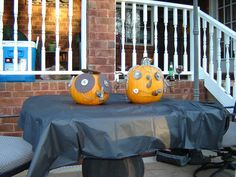 Halloween pumpkins made with hardware - now looking for new ideas for this year  :o)