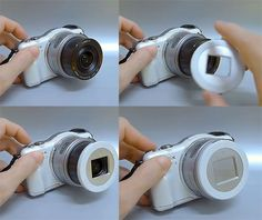 X-Cap is an Auto-Closing Lens Cap for Mirrorless Cameras