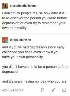 struggling with depression