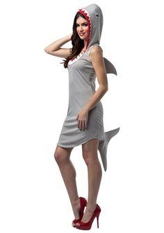 Shark Women Sexy Costume, $39.99 - The Costume Land