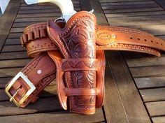 Cheyenne Holster & Belt (220.00 GBP) by LondonJacks