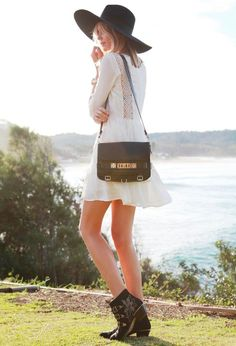 White + Gold and Black Accessories