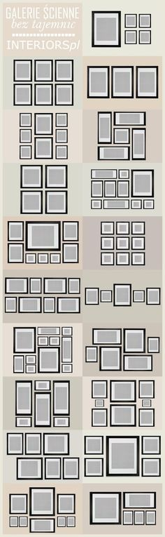 organize pictures on the wall