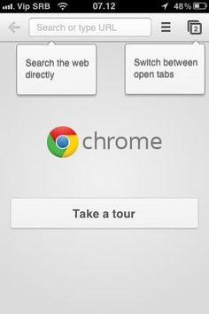 CHROME Browse fast with Chrome, now available on your iPhone, iPod touch and iPad. Sign in to sync your personalized Chrome experience from your computer, and bring it with you anywhere you go. Art And Technology, Iphone App, Ipod Touch, Chrome, Ipad, Sign, Website, Logos, Signs
