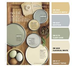 Really like this yellow and beige for the kitchen. - Chip It! by Sherwin-Williams
