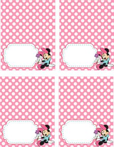 80% OFF SALE Disney Minnie Mouse Food Tents Food by allforparty
