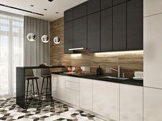 Современный дизайн интерьера для двухкомнатной квартиры в жк Фили град. интерьер…