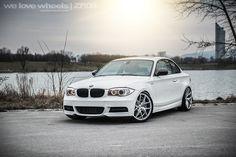 BMW E82 1er Coupé   ZP.NINE Deep Concave in Sparkling Silver und Gunmetal - www.z-performance.com - BMW F10 F11 F07 F06 F12 F13 Forum