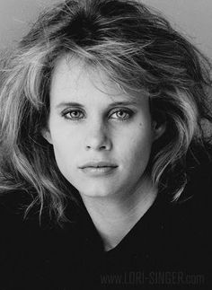 Lori Singer, actress(Fame, Footloose), model, classical musician, born in Corpus Christi, TX