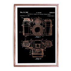 Camera Framed Picture