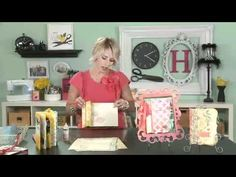 My Craft Channel presents Back to Back Binding - Learn about Heidi's favorite way to create mini books. It's a simple and cost affective way to create mini books.