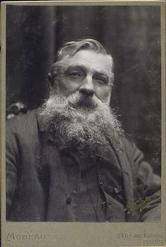 Sculptor Auguste Rodin, born November in Happy birthday M. Rodin and happy second dose of Mustache Monday! Auguste Rodin, Camille Claudel, Modern Sculpture, Sculpture Art, Metal Sculptures, Abstract Sculpture, Bronze Sculpture, Famous Artists, Great Artists