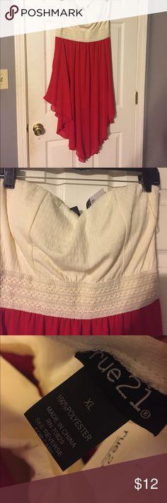 Selling this Asymmetrical Dress! on Poshmark! My username is: karrleeah. #shopmycloset #poshmark #fashion #shopping #style #forsale #Rue21 #Dresses & Skirts