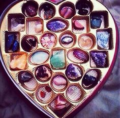 Crystal therapy. What a cool gift idea for a crystal lover. #crystals