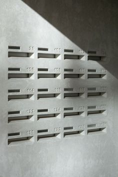 32 Awesome Apartment Mailboxes. Interiordesignshome.com | lobby ...