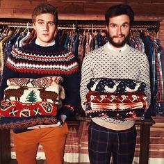 Own a soft, well-fitting sweater or five. (Preferably one that is so soft and delectable, you want to bury your face in it. That is how people will feel about you when you wear your Special Sweater. Cool Sweaters, Ugly Sweater, Men Sweater, Winter Sweaters, Vintage Sweaters, Sharp Dressed Man, Well Dressed, Looks Cool, Men Looks