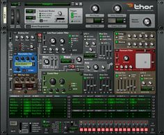 Propellerhead Reason - with a polysonic synth called Thor...how cool is that?