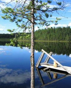 Seitseminen National Park in Pirkanmaa, southern Finland.