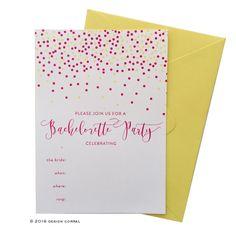 Confetti Party Invitation