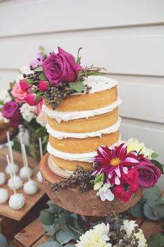 Gorgeous Rustic Bridal Shower via Kara's Party Ideas KarasPartyIdeas.com | Cakes, favors, printables, recipes, desserts, and more! #rusticbr...