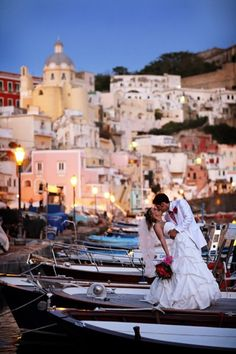 Amalfi Coast destination wedding is my dream! Maybe we can at least go here for our honeymoon ; Formal Dresses For Weddings, Romantic Weddings, Italian Weddings, Romantic Italy, Formal Gowns, Wedding Dresses, Perfect Wedding, Dream Wedding, Amalfi Coast Wedding