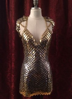 Altercate Scale Dress (Front) https://www.etsy.com/shop/ScailleMaille